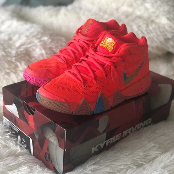 quality design 3adbe 3f911 Kyrie 4 Cereal Pack Lucky Charms GS 5.5Y/7W